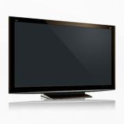 HDTV flatscreen television