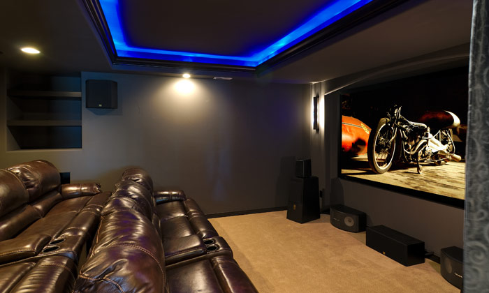 theater room seating. . home theater. seatcraft vader home theater