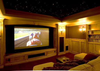 luxury custom home theater surround sound system