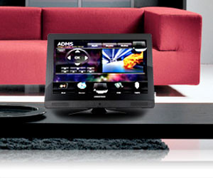 home automation touch screen universal control