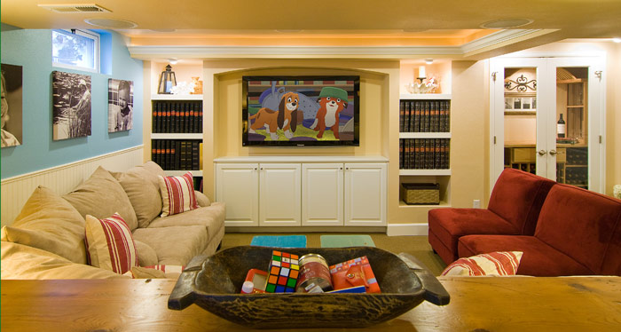 Media Room Design Electronic Integration
