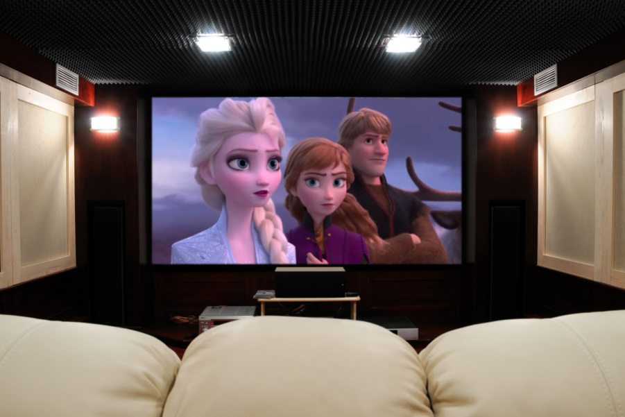 Home Theater Installation Creates the Perfect Private Cinema